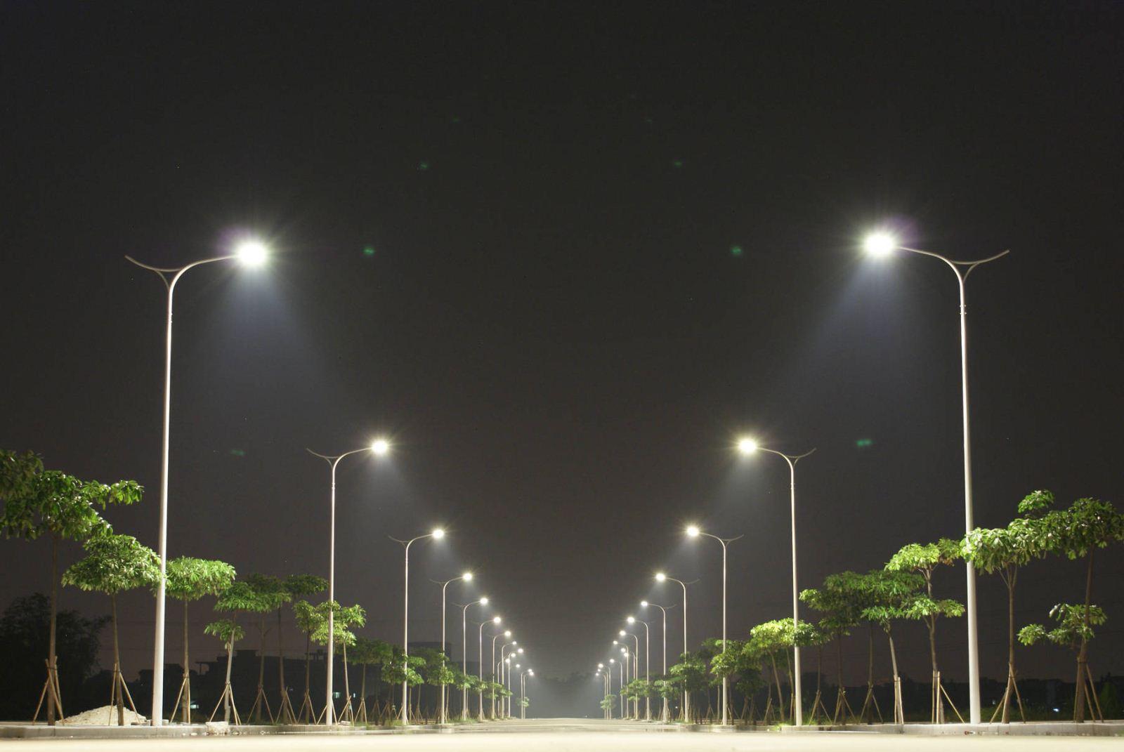 智慧路燈:入駐公園